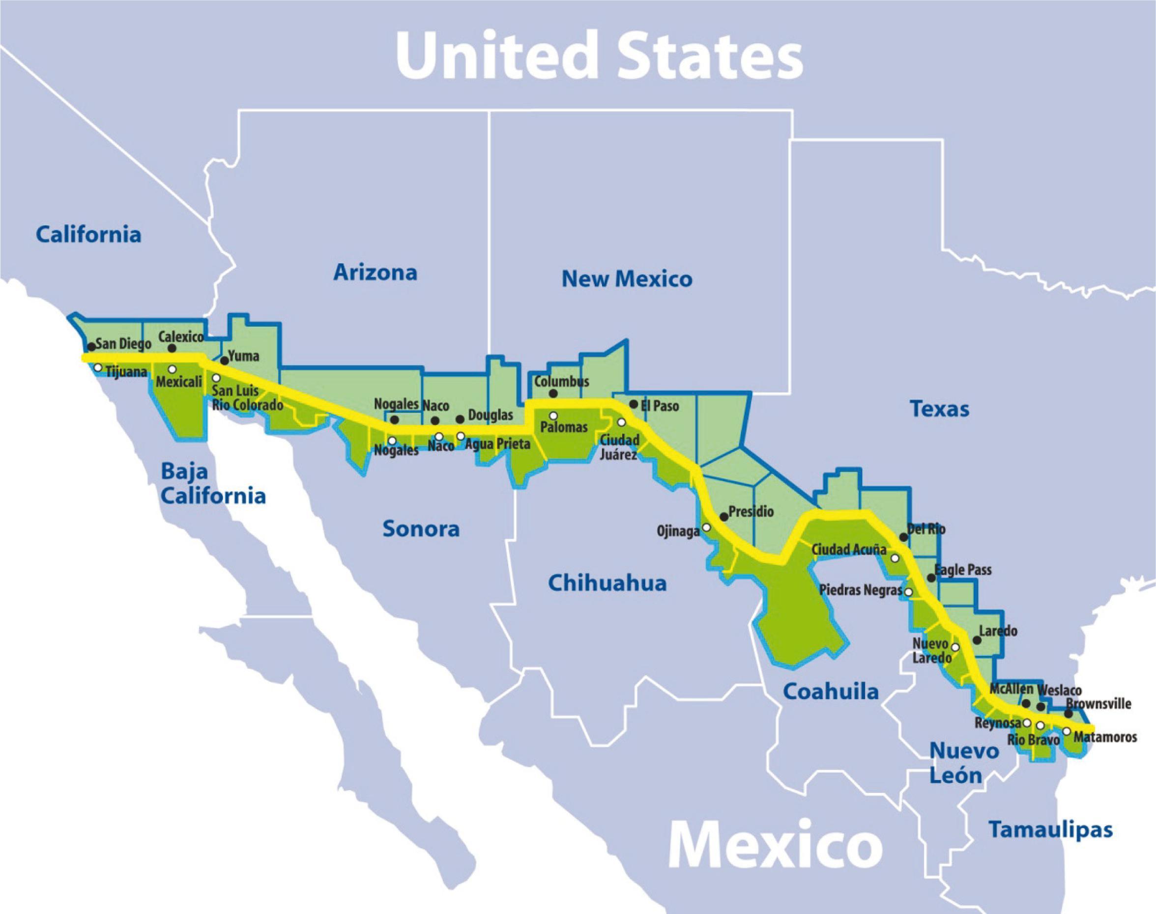 Sade Pblica The United StatesMexico border environmental